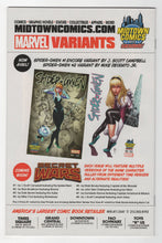 Amazing Spider-Man Renew Your Vows #1 Midtown Variant Cover Back