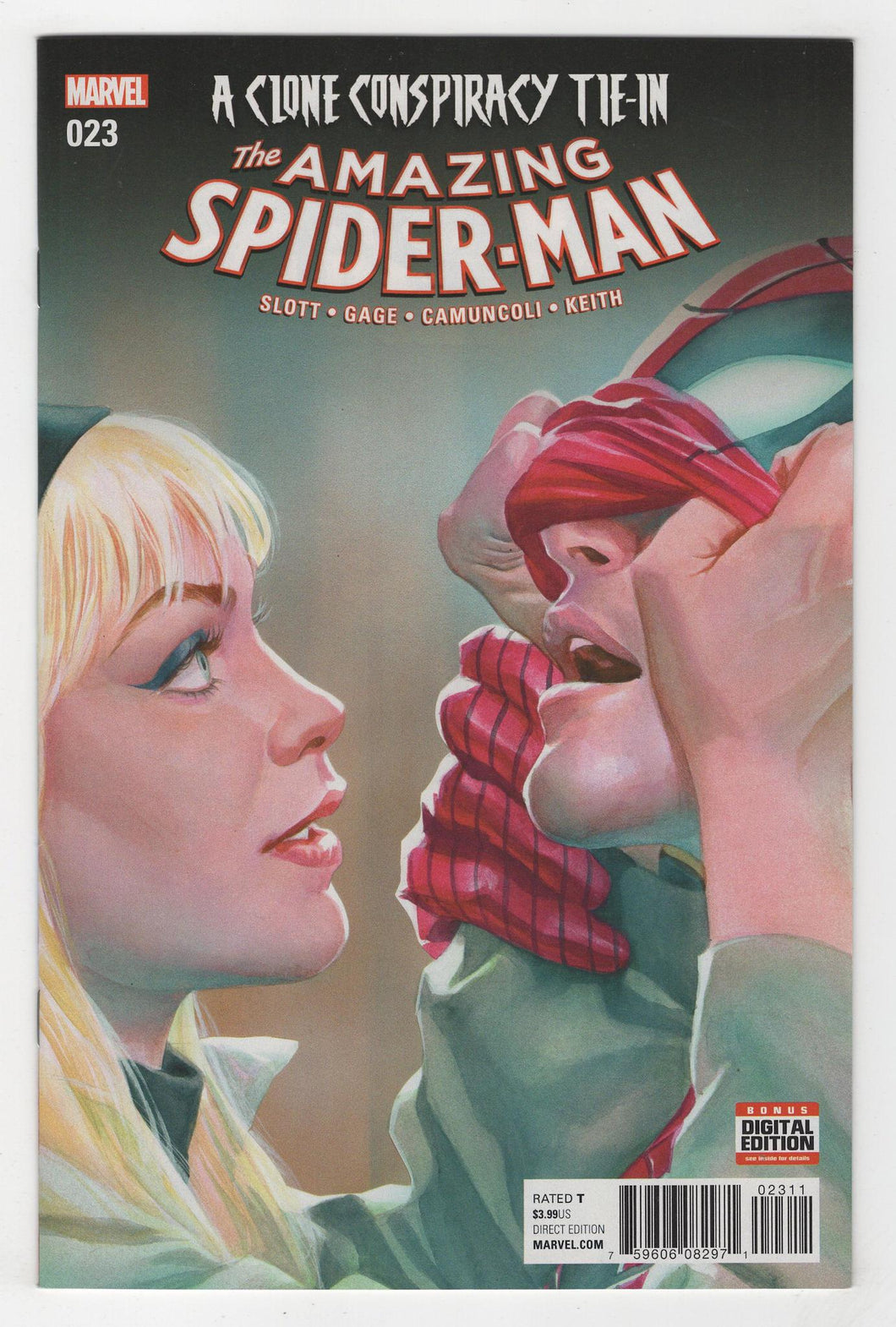 Amazing Spider-Man #23 Cover Front
