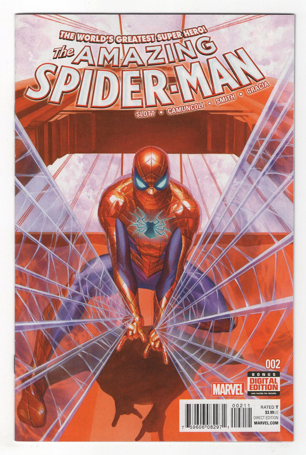 Amazing Spider-Man #2 Cover Front