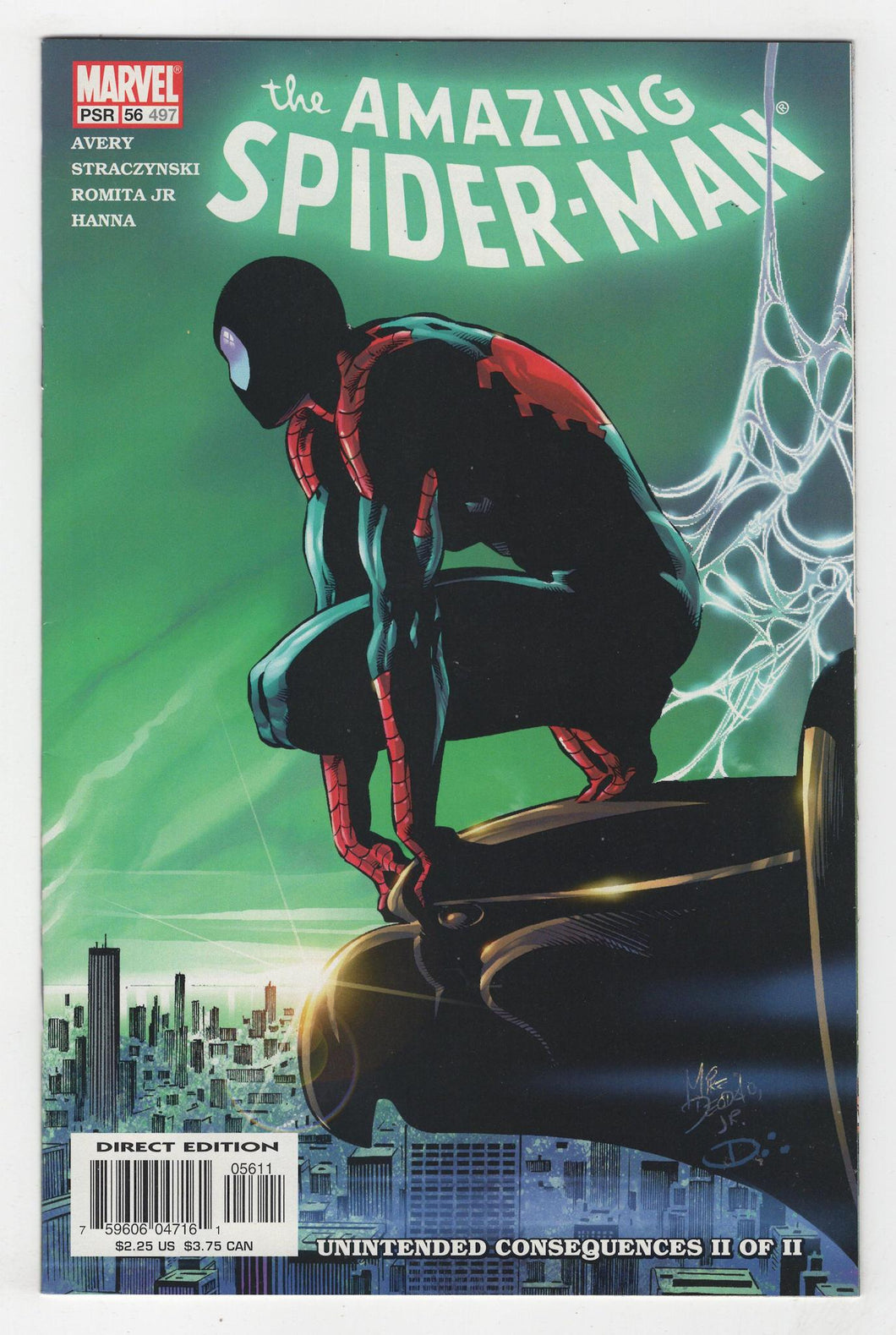 Amazing Spider-Man #56 Cover Front