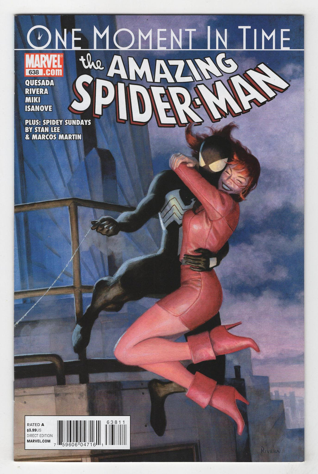 Amazing Spider-Man #638 Cover Front