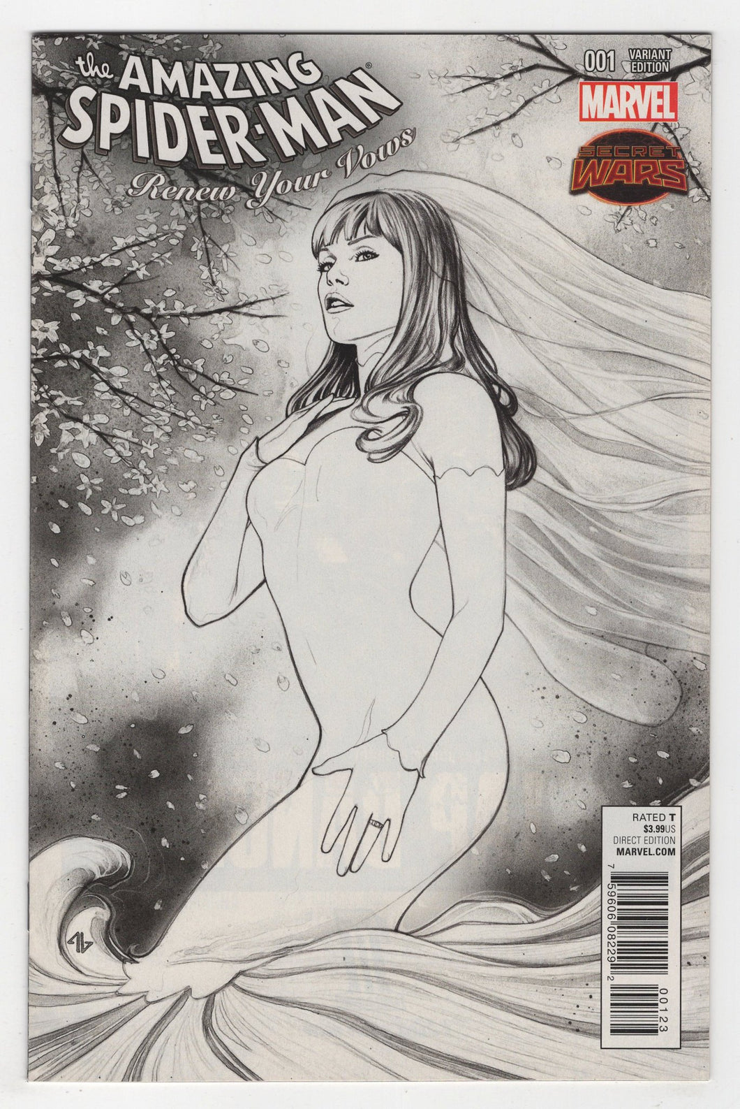 Amazing Spider-Man Renew Your Vows #1 Legacy Variant Cover Front