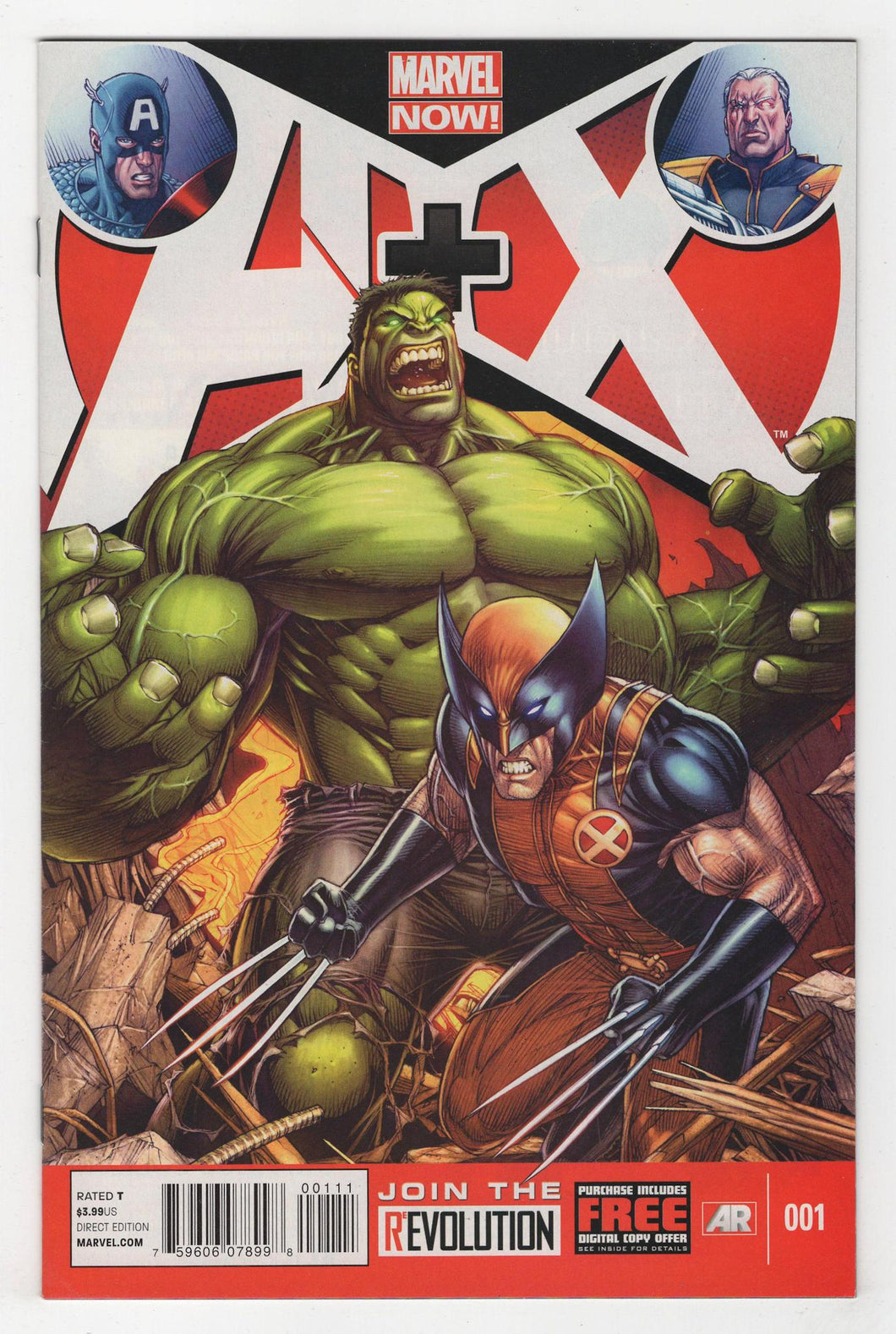A Plus X #1 Cover Front