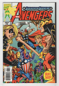 Avengers #6 Cover Front