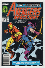 Avengers Spotlight #26 Cover Front
