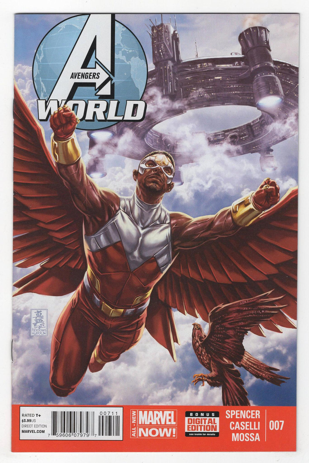 Avengers World #7 Cover Front