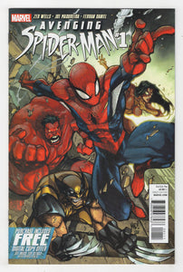 Avenging Spider-Man #1 Cover Front