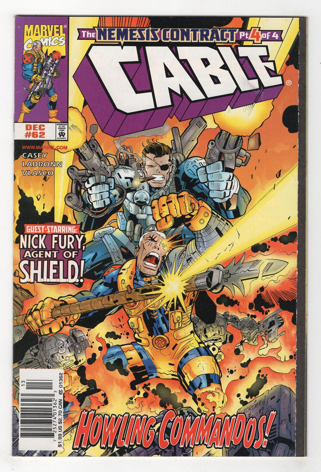 Cable #62 Cover Front