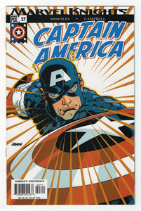 Captain America #27 Cover Front
