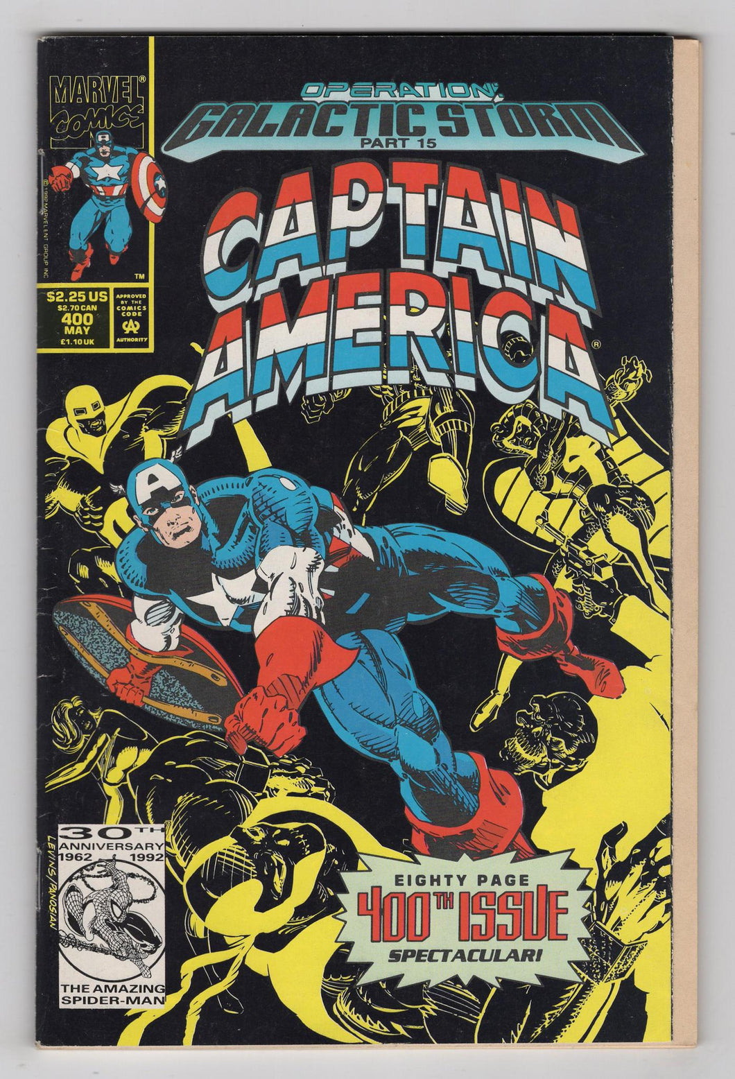Captain America #400 Cover Front