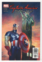 Captain America What Price Glory #4 Cover Front