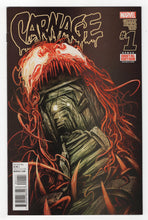 Carnage #1 Regular Michael Del Mundo Cover (2015) Front