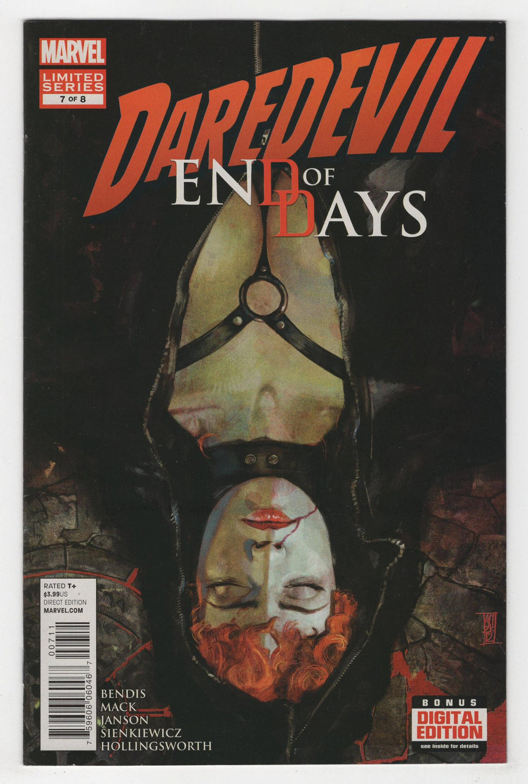 Daredevil End of Days #7 Cover Front