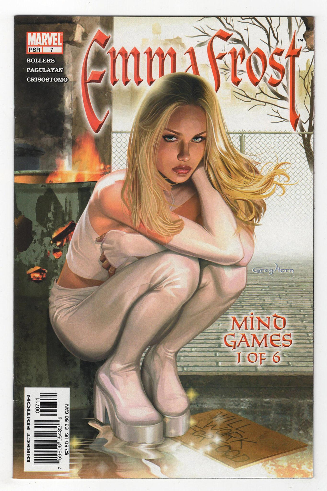 Emma Frost #7 Cover Front
