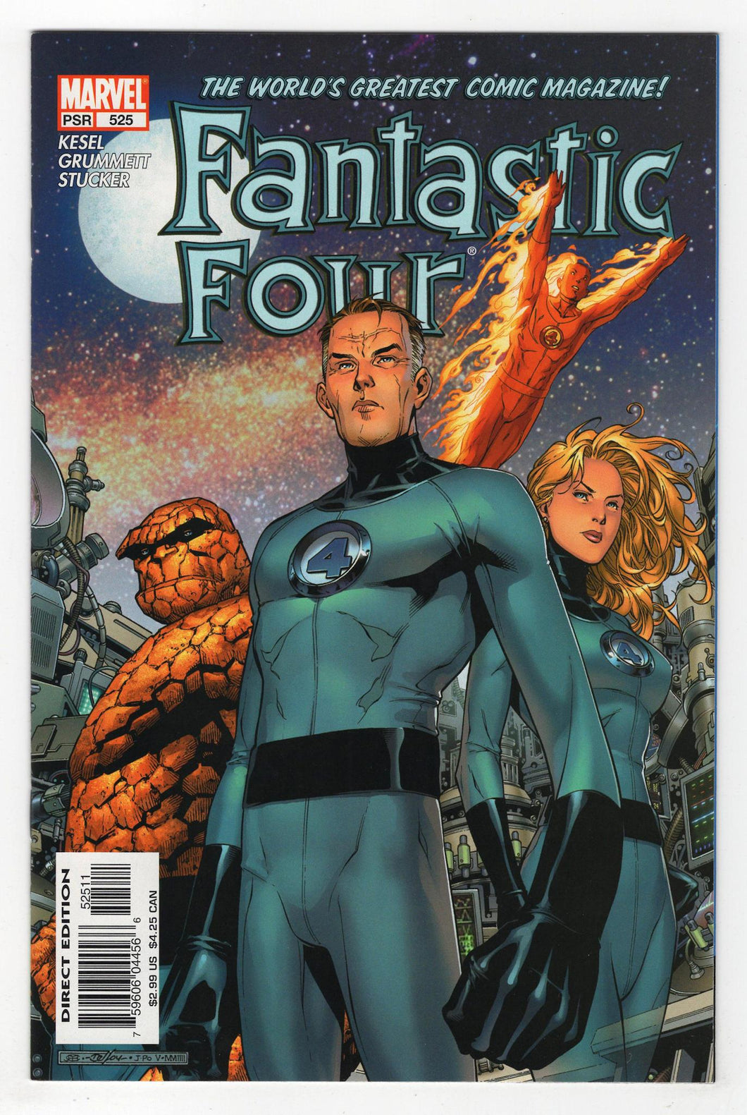 Fantastic Four #525 Cover Front