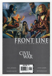 Civil War Frontline #1 Cover Front
