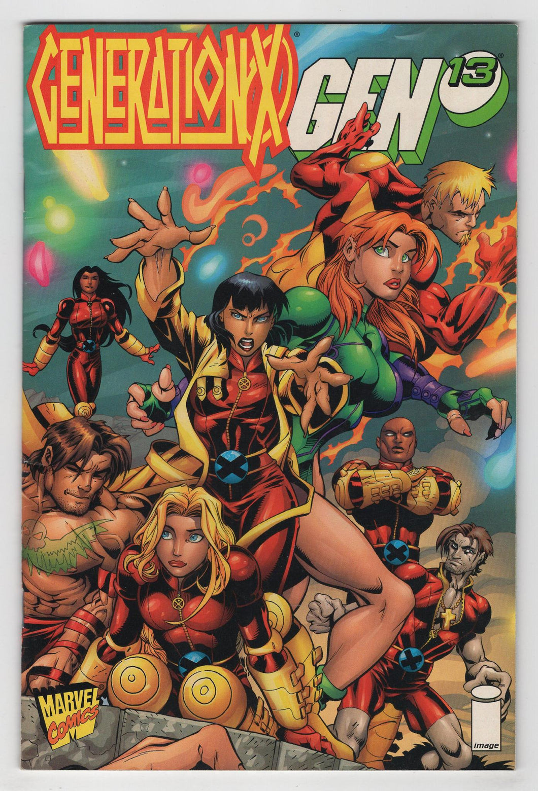 Generation X Gen 13 One Shot Cover Front
