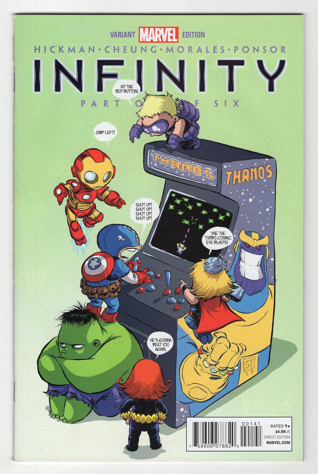 Infinity #1 Variant Cover Front