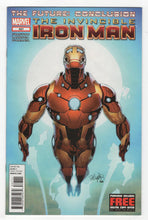 Invincible Iron Man #527 Cover Front