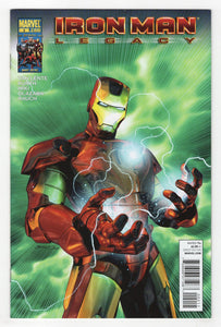 Iron Man Legacy #2 Cover Front