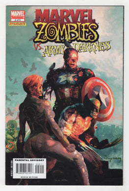 Marvel Zombies Army of Darkness #2 Cover Front