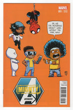 Mighty Avengers #1 Young Variant Cover Front
