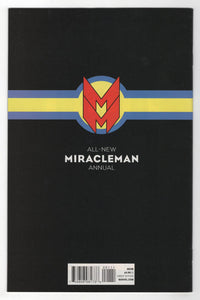All New Miracleman Annual #1 Cover Back