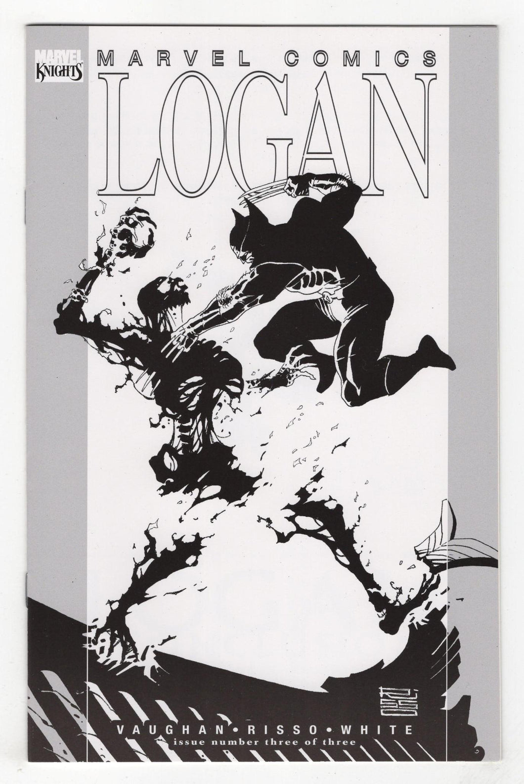 Logan #3 Cover Front