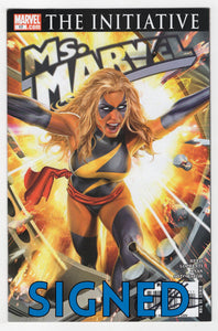 Ms Marvel #17 Signed Cover Signed
