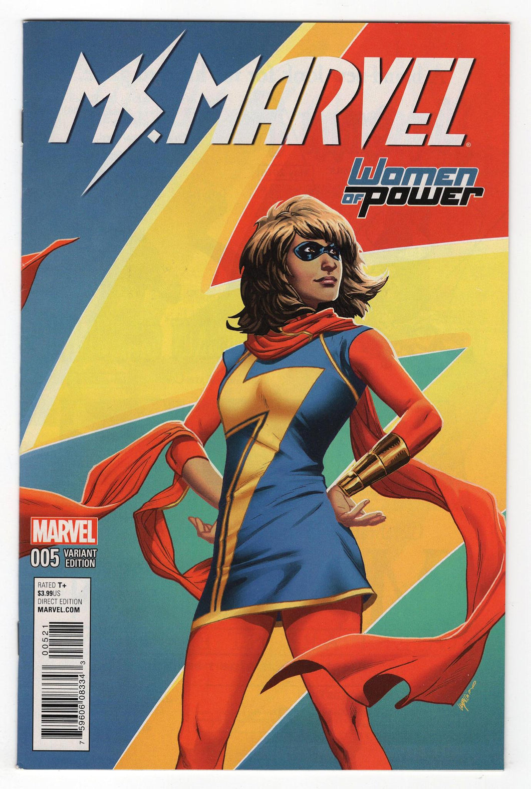 Ms Marvel #5 Cover Front