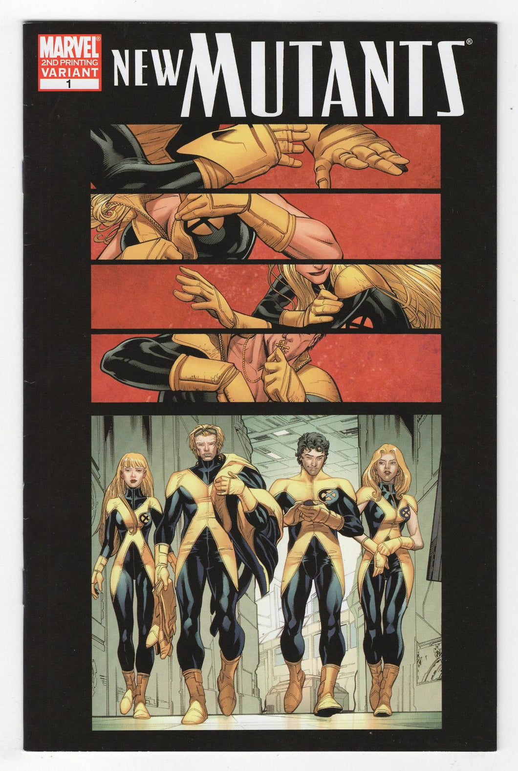 New Mutants #1 2nd Print Variant Cover Front