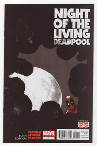 Night of the Living Deadpool #1 Cover Front