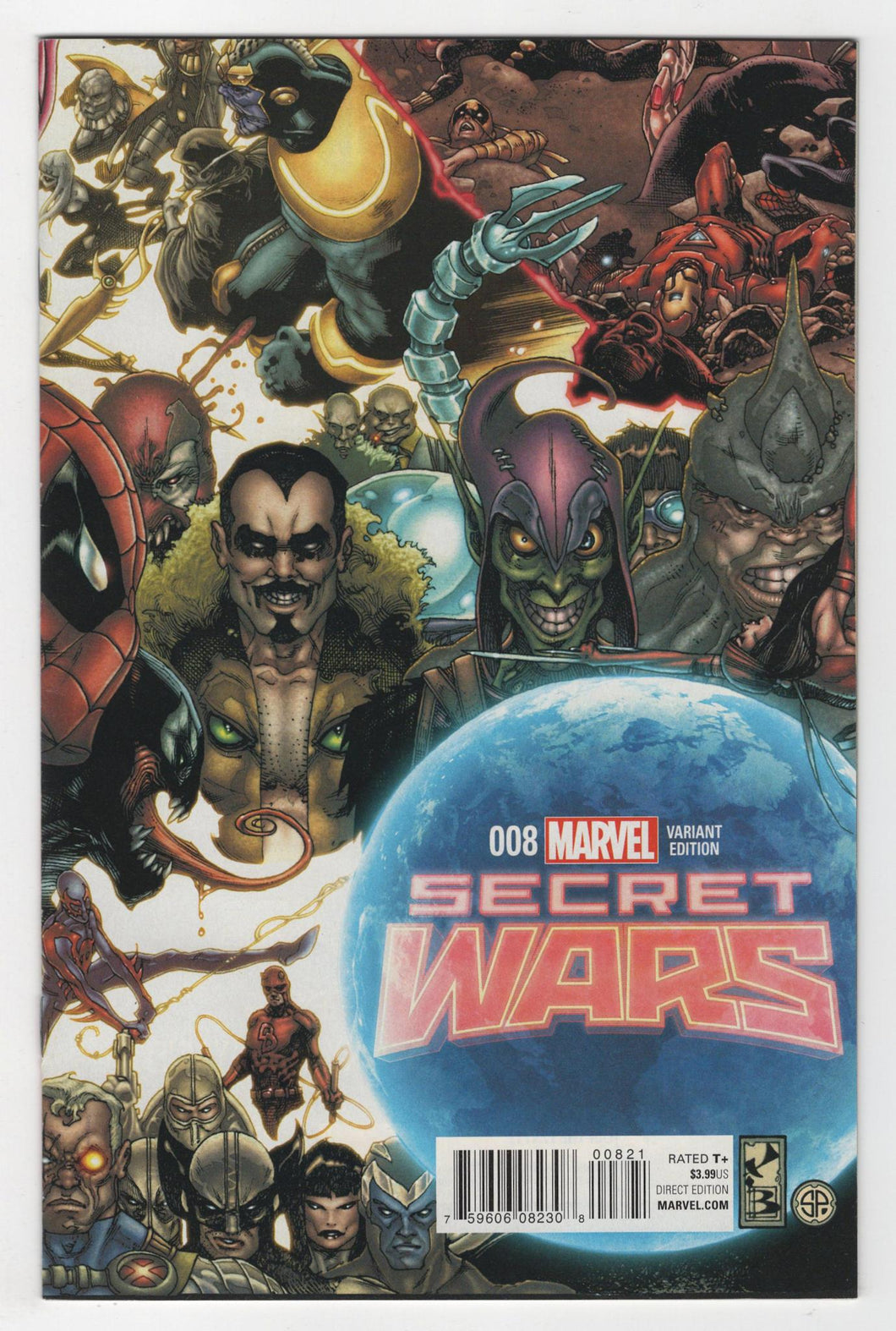 Secret Wars #8 Incentive Variant Cover Front