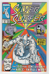 Silver Surfer #31 Cover Front