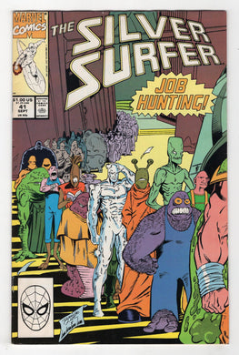 Silver Surfer #41 Cover Front