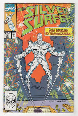 Silver Surfer #42 Cover Front