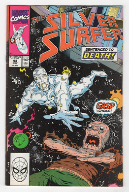Silver Surfer #43 Cover Front