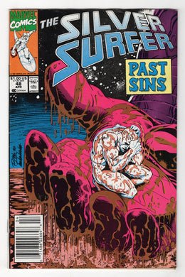 Silver Surfer #48 Cover Front