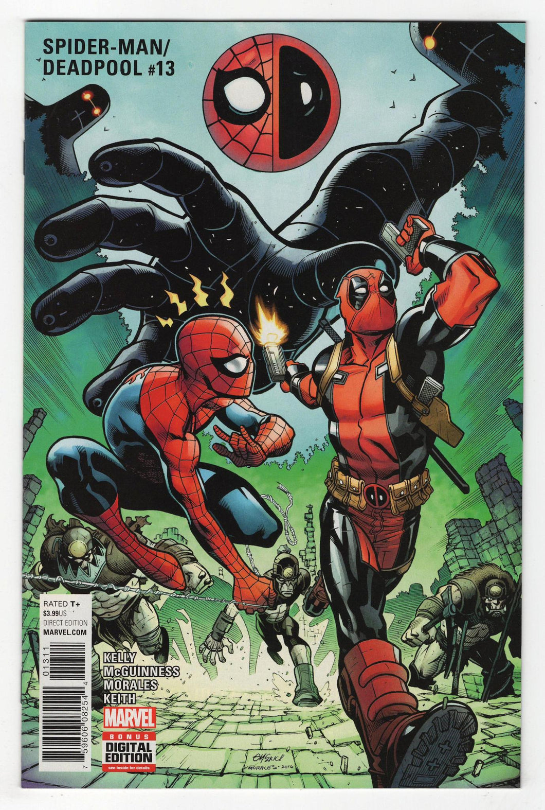 Spider-Man Deadpool #13 Cover Front