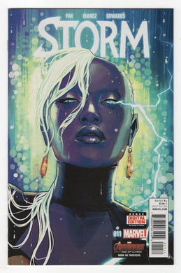 Storm #11 Regular Stephanie Hans Cover (2015) Front