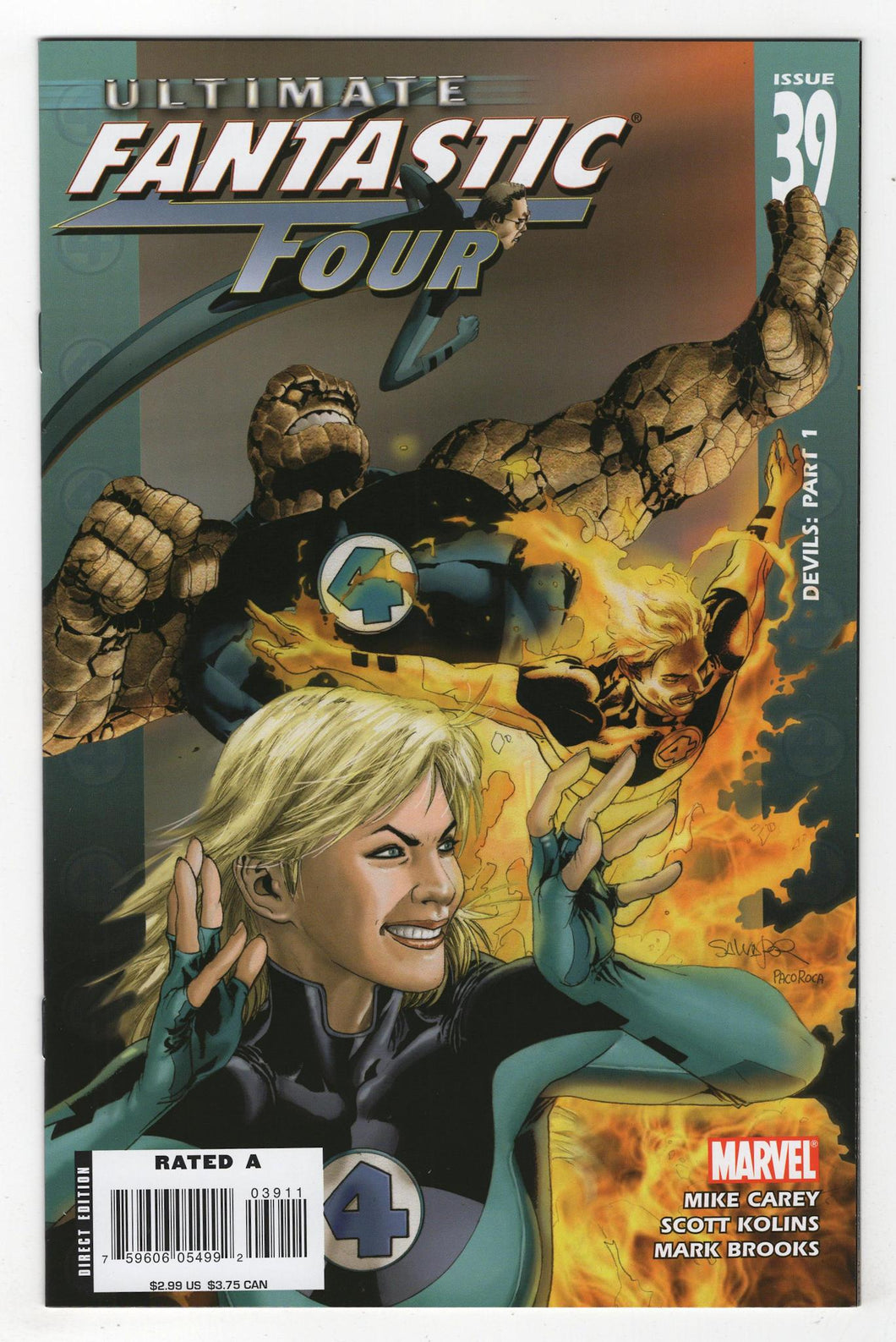Ultimate Fantastic Four #39 Cover Front