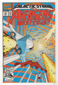 Avengers West Coast #82 Cover Front