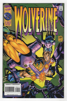 Wolverine #92 Cover Front