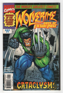 Wolverine Days of Future Past #1 Cover Front