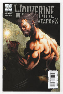 Wolverine Weapon X #3 Variant Cover Front