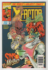X-Factor #139 Cover Front