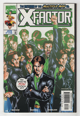 X-Factor #146 Cover Front