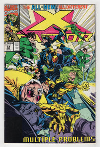 X-Factor #73 Cover Front