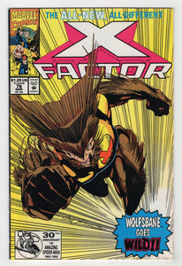 X-Factor #76 Cover Front