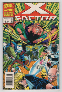 X-Factor Annual #8 Cover Front